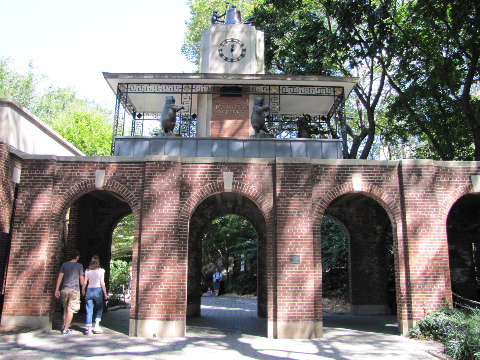 The Entrance to the Central Park Zoo