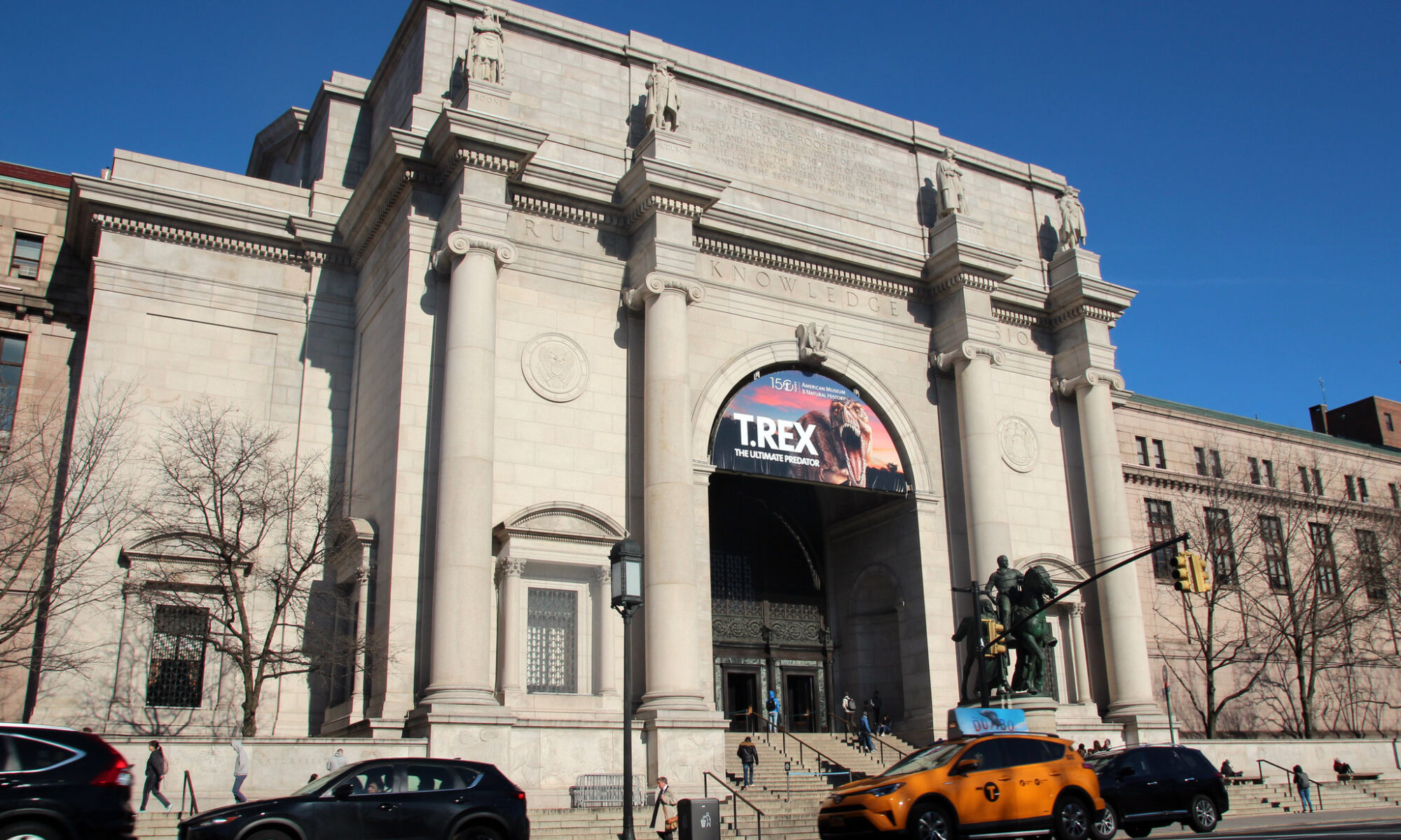 Entrance to the Museum of Natural History