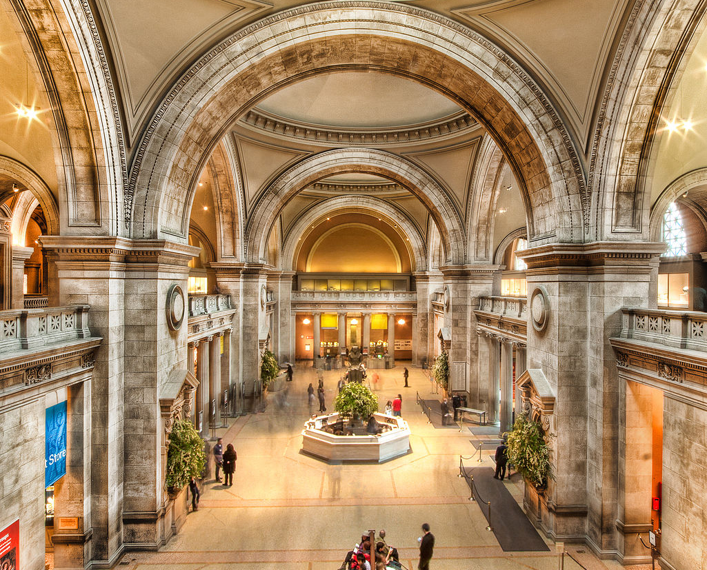 The Inside of the Metropolitan Museum of Modern Art