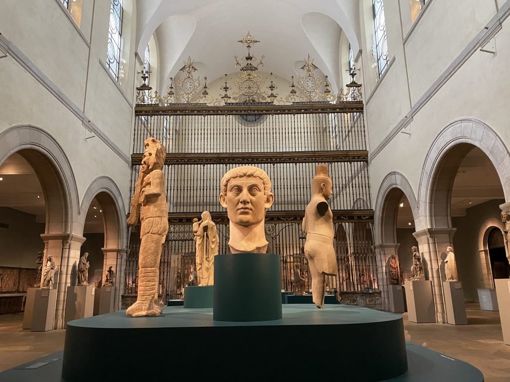 the Medieval Hall of the Metropolitan Museum of Art